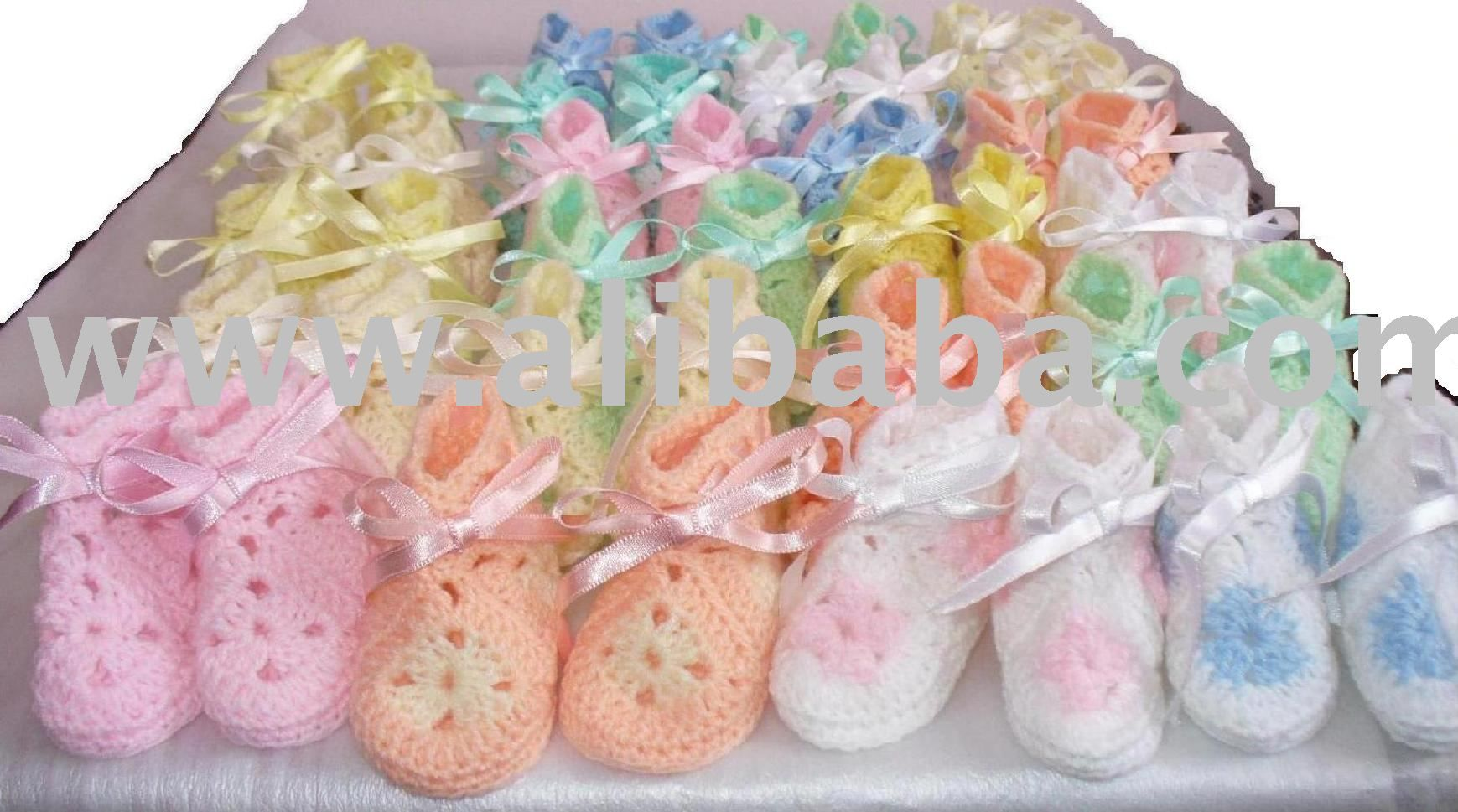 Baby Bootie Patterns #156907 | Home New Depot | Stevie\'s Baby Shower ...