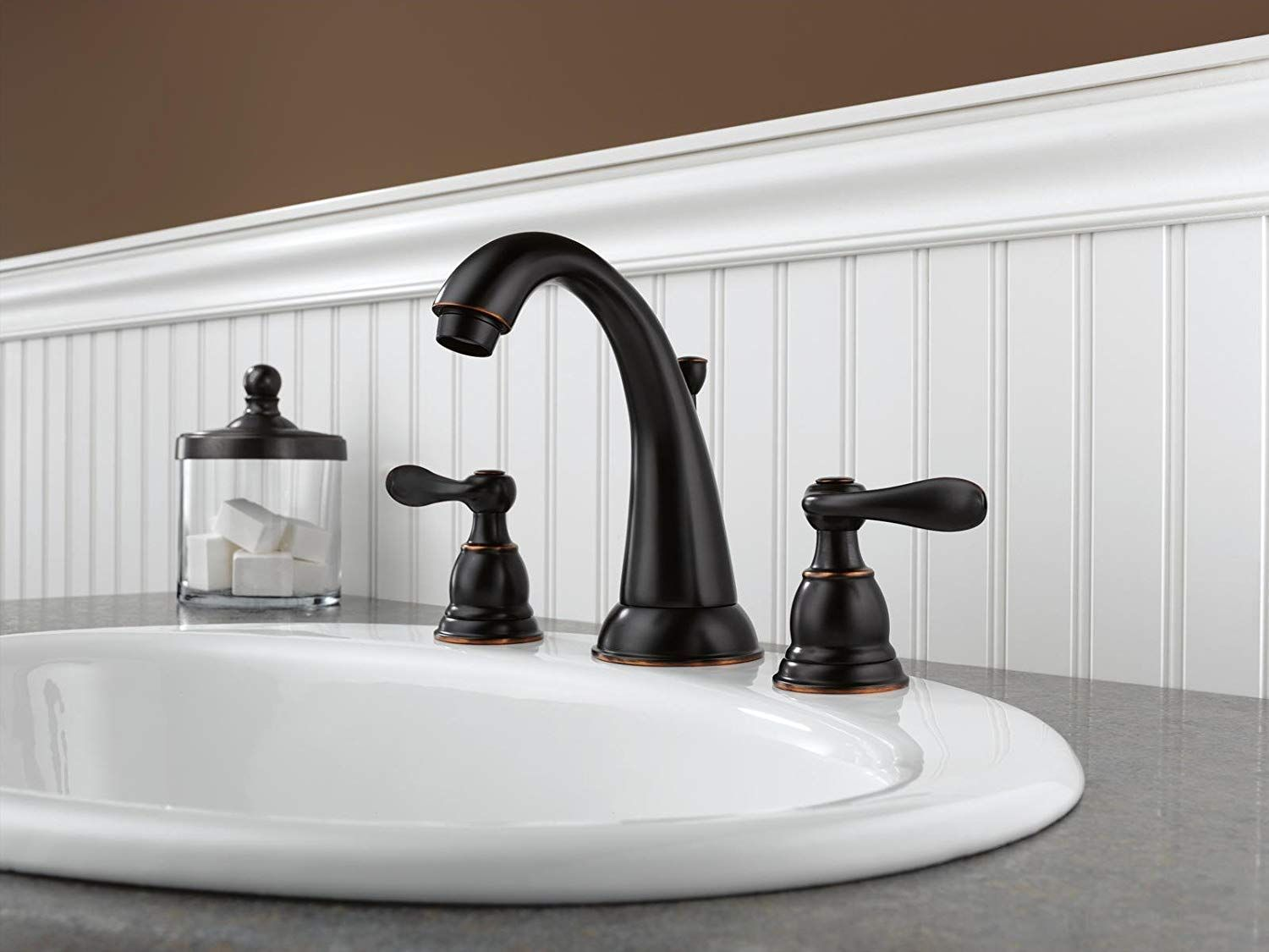 Not Only Is It A Beautiful And Cost Effective Choice For Your Bath It S A Smart Choice Widespread Bathroom Faucet Bathroom Faucets Oil Rubbed Bronze Bathroom