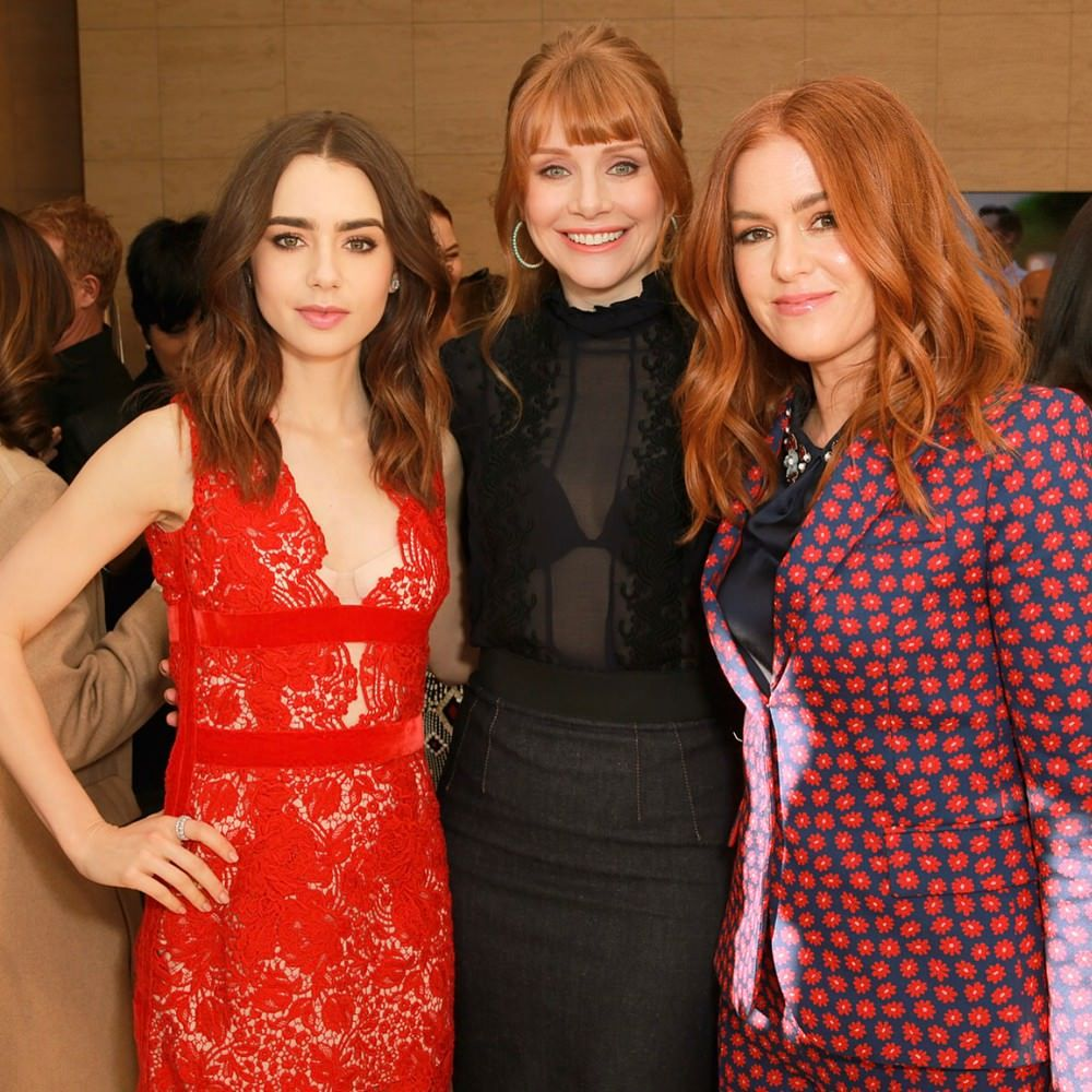 Lily Collins Bryce Dallas Howard And Isla Fisher Victoria Dress Kendall Jenner Outfits Women