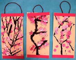 Cherry Blossom Scrolls (K-1)