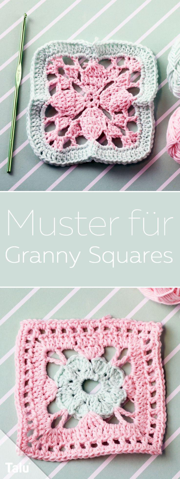 Muster Für Granny Squares Anleitung Und Ideen Zum Häkeln