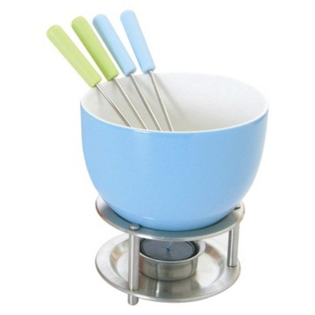 I'm learning all about Orka Mastrad Fondue Set Blue at @Influenster!