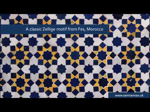 22 Classic Zellige How To Draw Islamic Geometry زخارف اسلامية هندسية Youtube Geometric Tiles Geometric Pattern Geometric