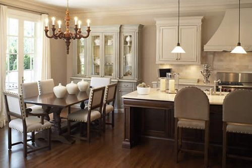 Classic Beauty Kitchen Kitchen Layout Kitchen Dinning Room Home Kitchens