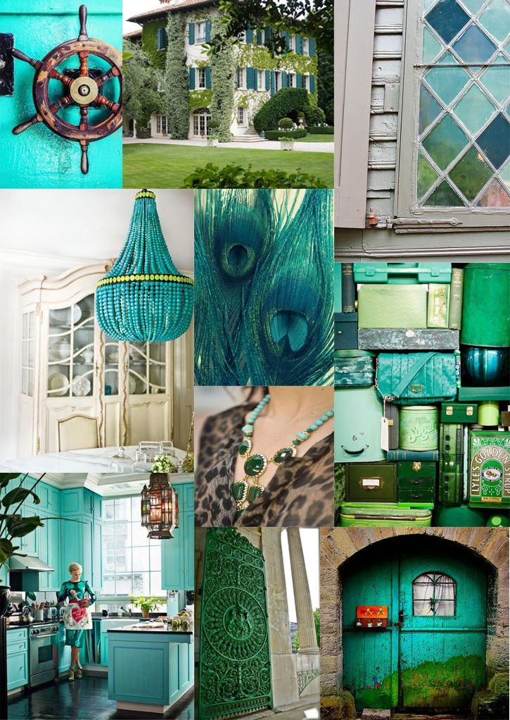 Anne Book Signature Style Turquoise And Jade