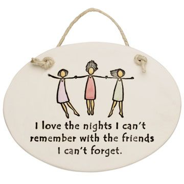 I'm thinking I like the nights i can remember a little better but I get what they're sayin :)