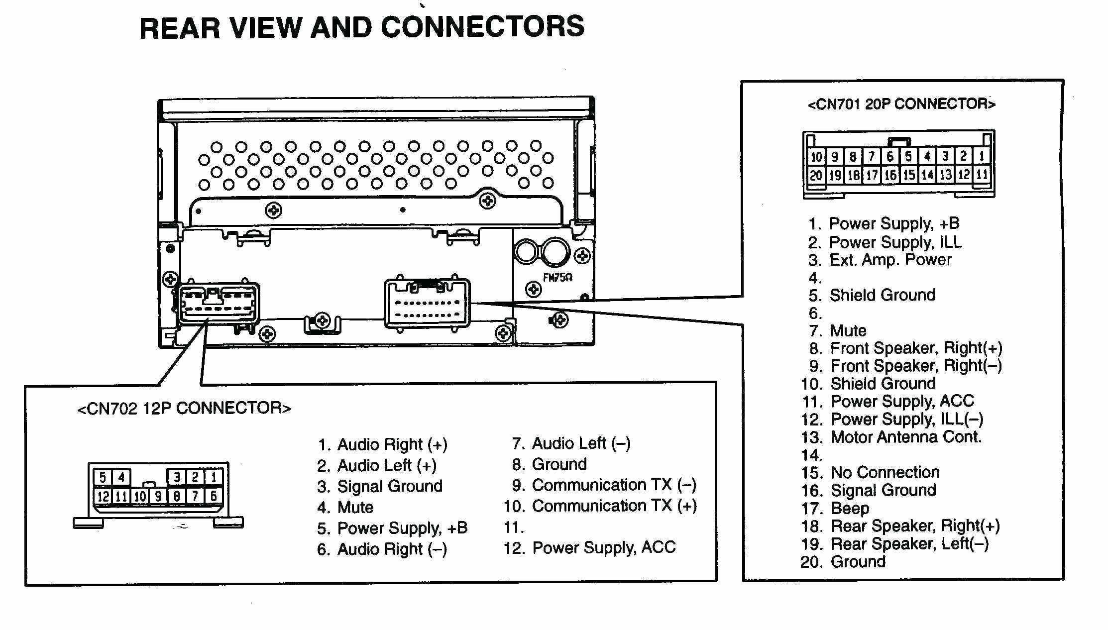 Car Stereo Wire Diagram In 2021 Car Stereo Wiring Diagram Wiring Diagram Car Stereo