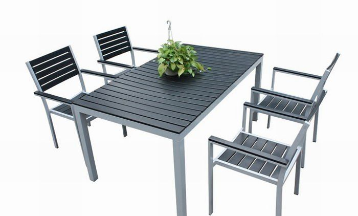 Wondrous Wpc Outdoor Bench Have Dimension Stability Against Moisture Gmtry Best Dining Table And Chair Ideas Images Gmtryco
