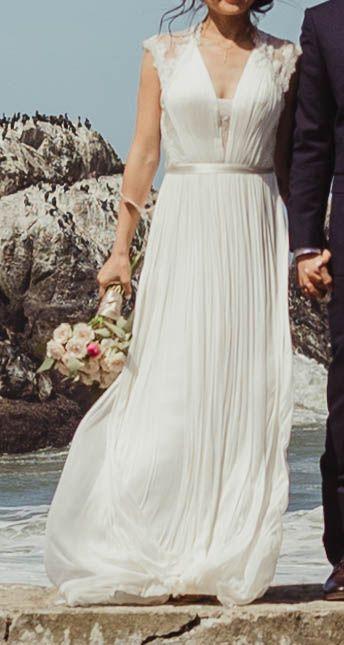 Bhldn Fantasia Wedding Dress Used Size 2 550 Dresses