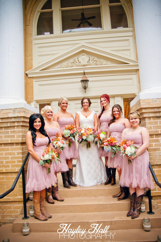 Tyler Texas Wedding Photography, Bridesmaids, Bride, Blush Bridesmaid  Dresses