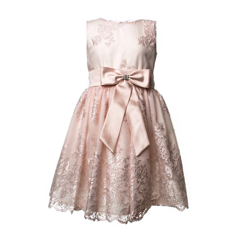 Mimilú - Abito Cerimonia Gioiello Raffinato abito da Cerimonia in tulle  rosa antico modello