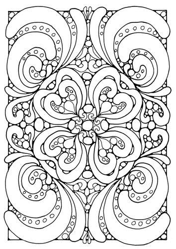 Coloring page mandala   Coloring pages   Pinterest   Mandalas ...