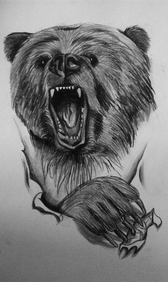 roaring-bear-tattoo-design.jpg | Roaring Bear Tattoo ...