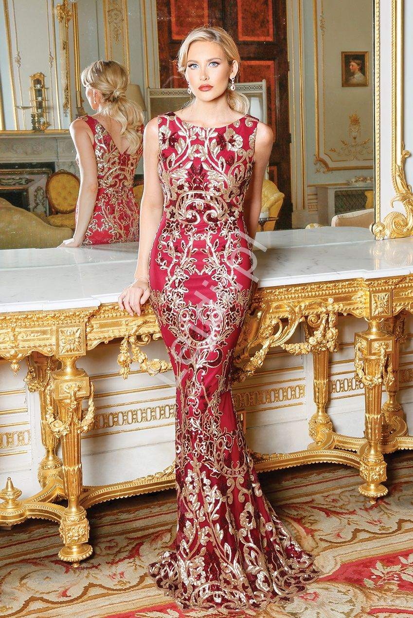 6e1707420b Fenomenalna suknia wieczorowa o kroju syreny