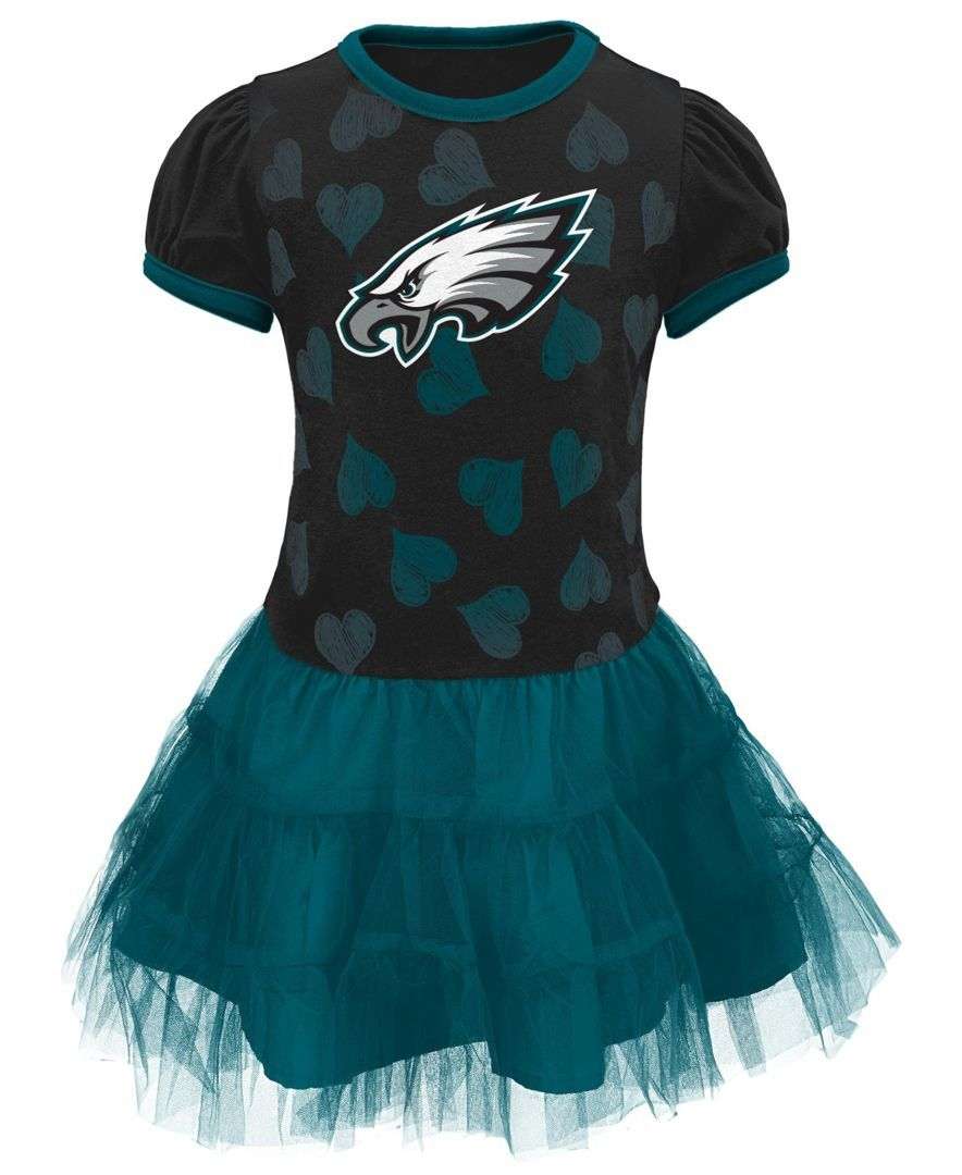 more photos 8e031 7b86d Outerstuff Toddler Girls' Philadelphia Eagles Love to Dance ...