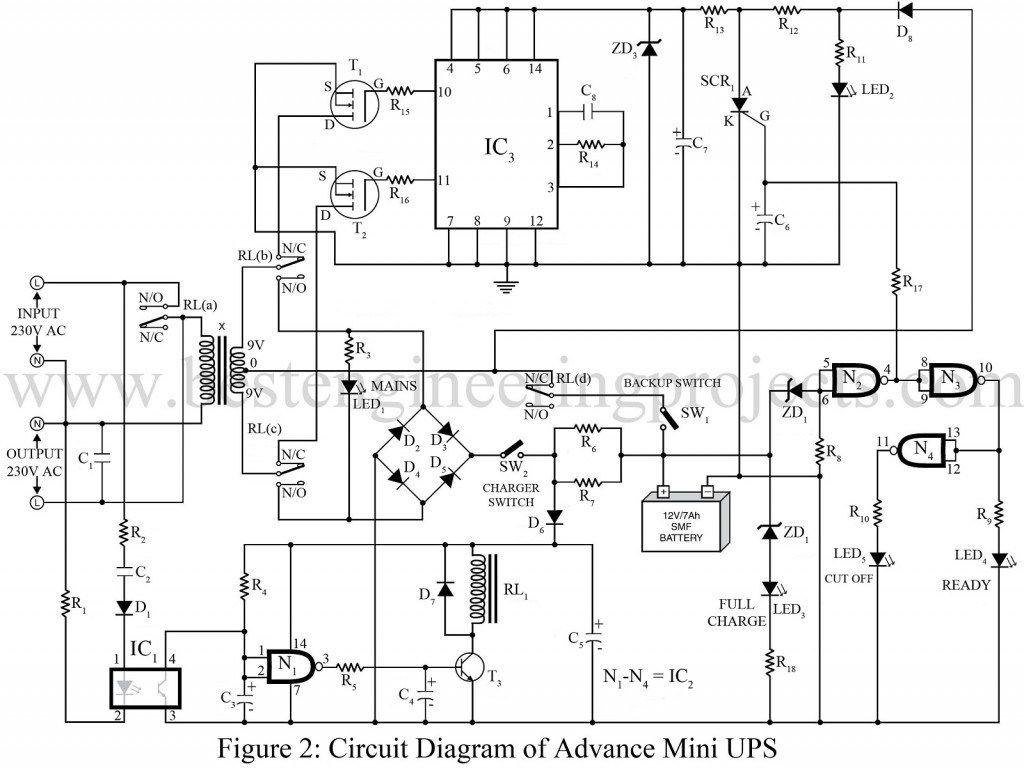 circuit diagram of advance mini ups electronics pinterest rh pinterest com electronic ups circuit diagram Battery Backup Circuit Diagram