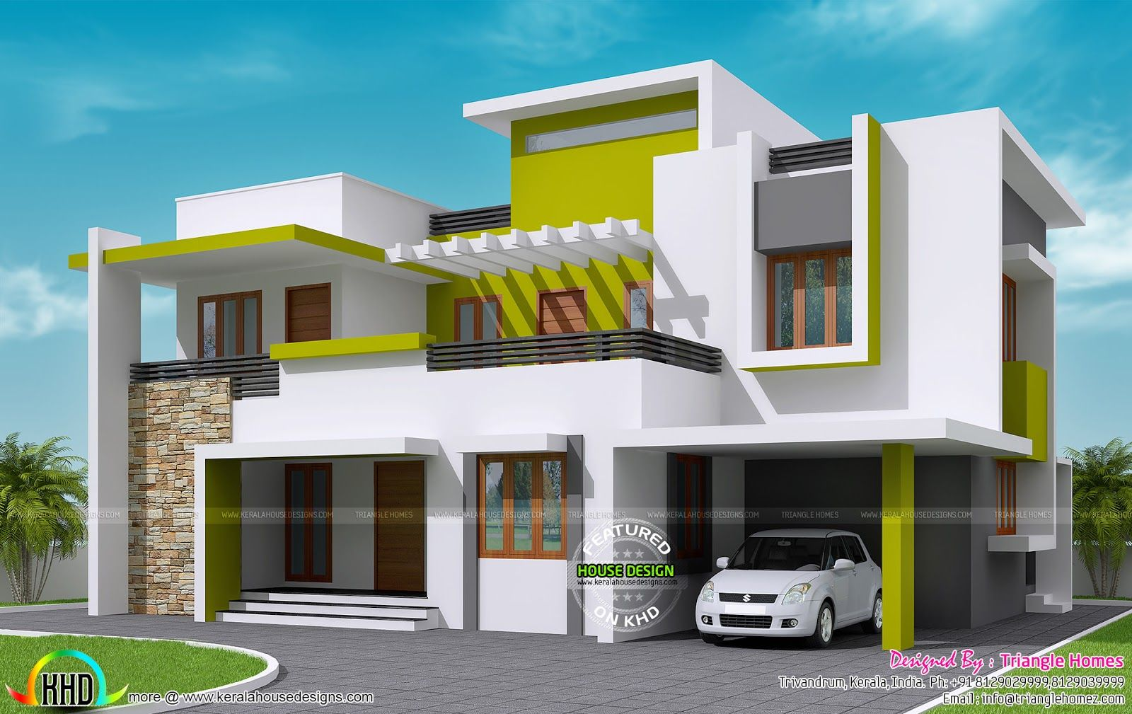 Looking For Modern Floor Plans Checkout Our Gallery For Latest Designs Http Apnaghar Co In House Plan Gall Latest House Designs Floor Plans My House Plans
