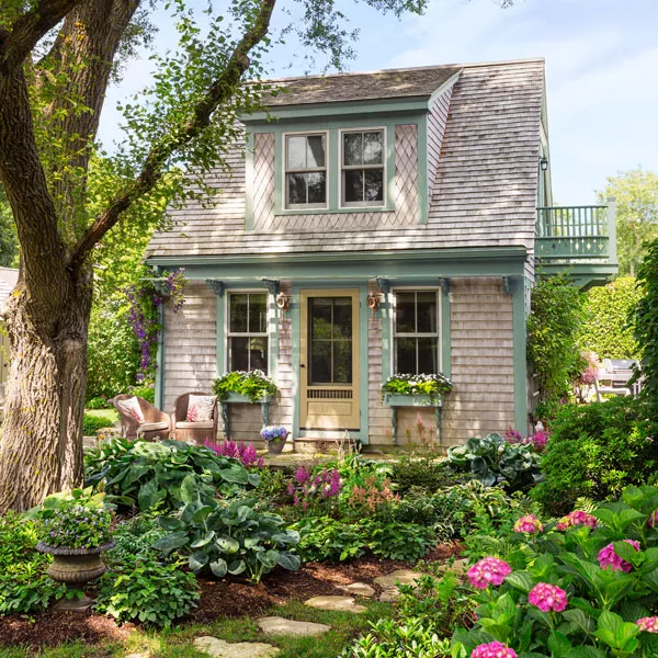 Backyard Garage Becomes Dreamy Guest Cottage - This Old House