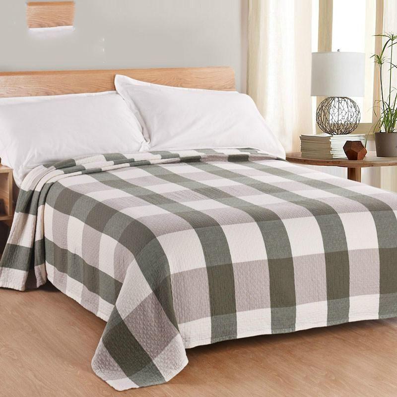 New 2017 Throw Blanket - 1piece 200 220cm 100% Cotton Blanket three Layers  Gauze Plaid Blanket Adult Super Soft Muslin Blankets. fe9cf2cb8