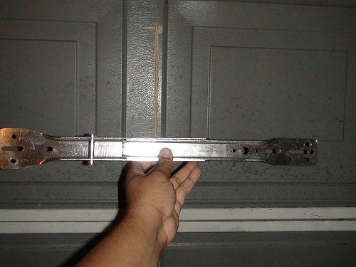 Broken Garage Door Bracket Doityourself Com Community Forums Garage Door Opener Repair Garage Door Accessories Broken Garage Door