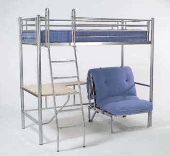 futon bunk bed with desk and chair my kids love their bunk bed find