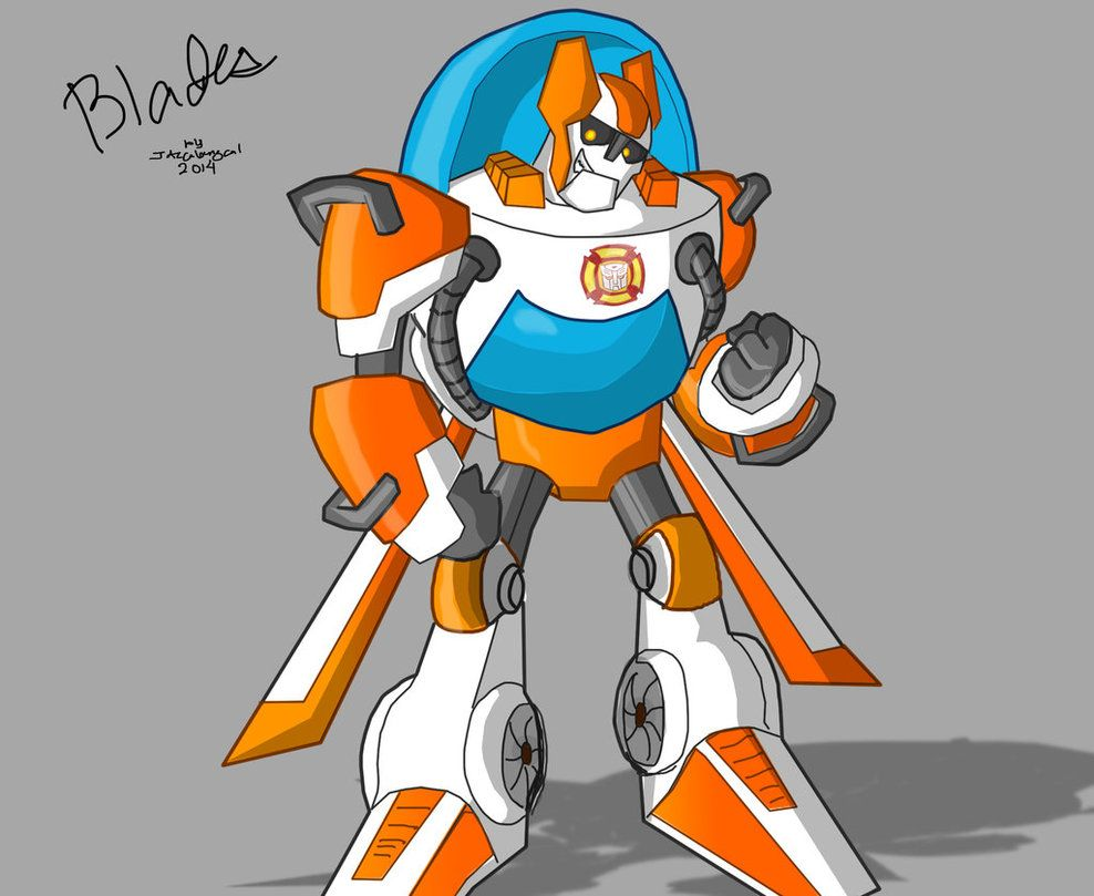 Rescue Bot Blades By Jazcabungcal On Deviantart Rescue