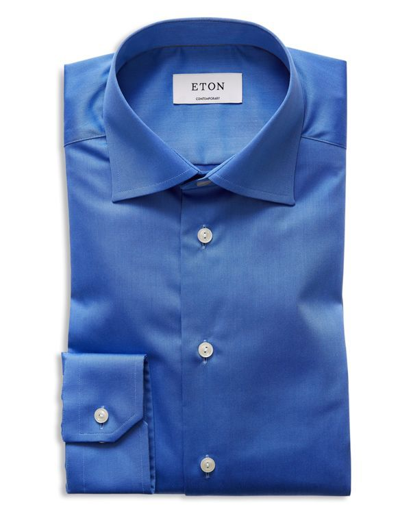 fe1e5aa6c75d Eton of Sweden Regular Fit Basic Dress Shirt