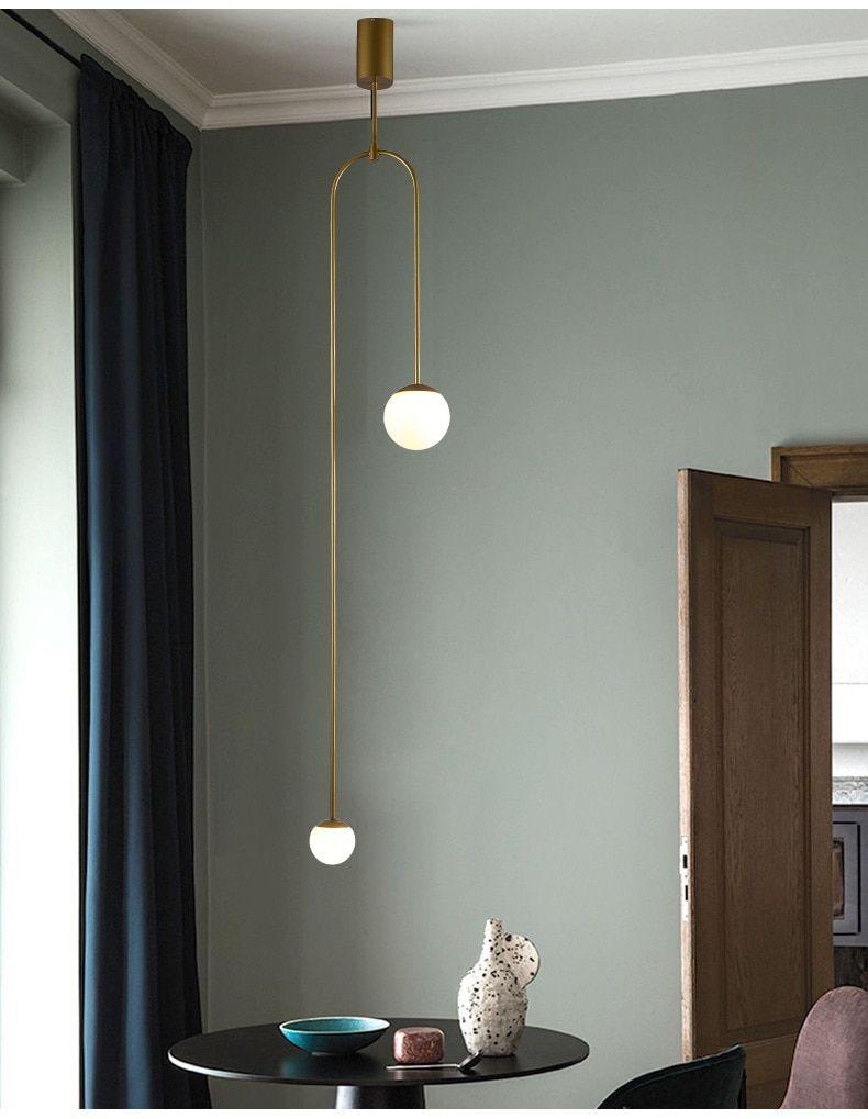 Postmodern Led Pendant Lights Bedroom Lighting Nordic Home Deco Fixtures Living Room Pendant Lighting Bedroom Hanging Lights Living Room Hanging Bedroom Lights