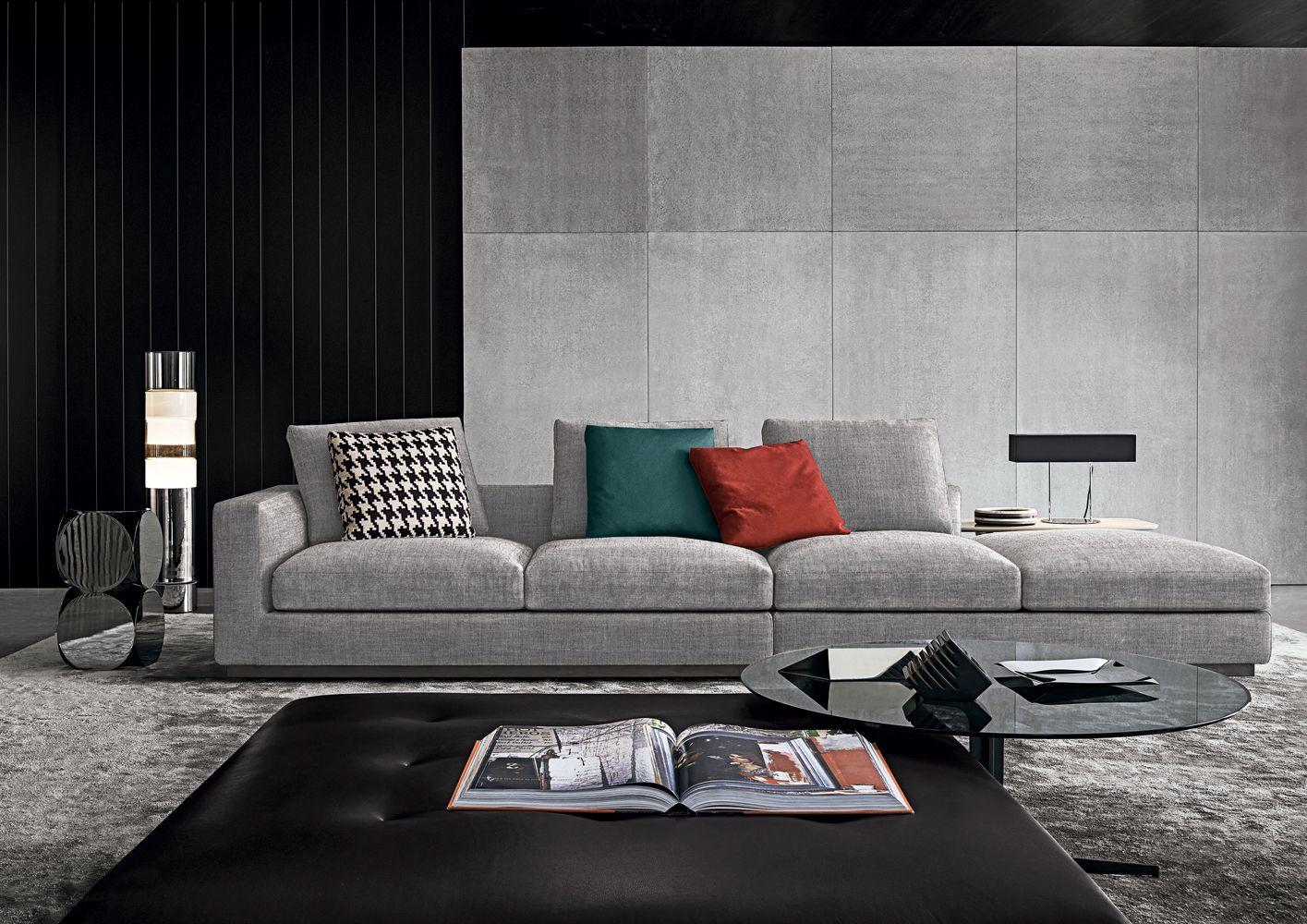 Minotti Ipad Andersen Line Andersen Line Quilt Divani It Minotti Cushions On Sofa Furniture