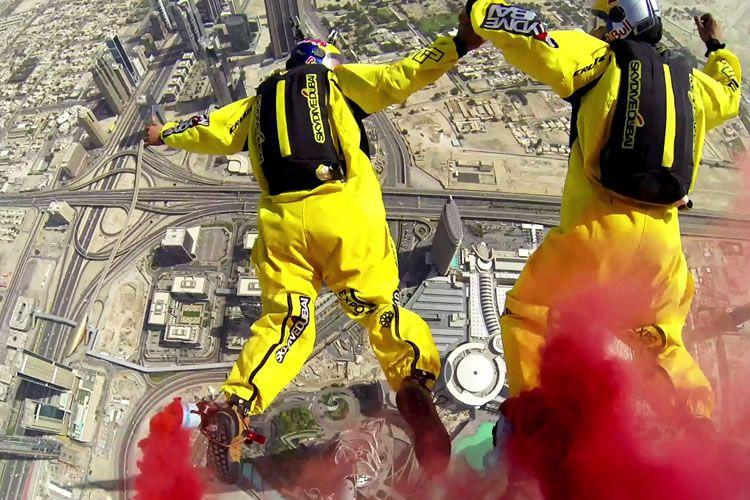 burj khalifa base jump - Google 搜索