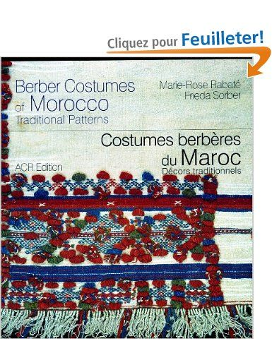 Costumes Berberes Du Maroc Decors Traditionnels Edition