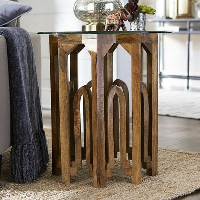 Lovely Moroccan End Table Base