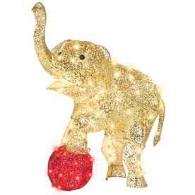 gemmy 1 piece 331 ft elephant outdoor christmas decoration - Christmas Elephant Outdoor Decoration