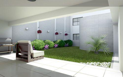 Los patios pequeños son muy comunes actualmente, son pocas las casas que cuentan con grades patios... Para más información ingresa a: http://jardinespequenos.com/diseno-de-patios-pequenos-modernos/