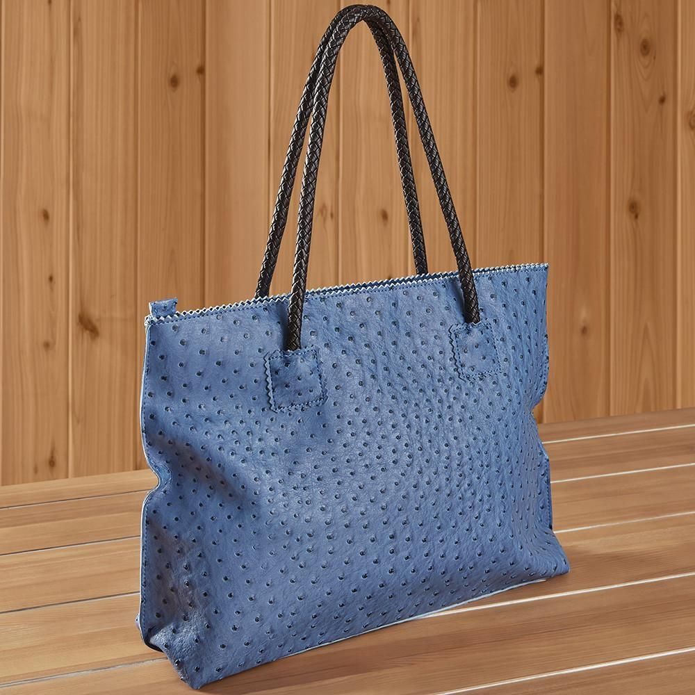 c1cfe64c1 22 Tote Vegan Ostrich Leather Zip Tote Handbag in 2019   Inspiration ...