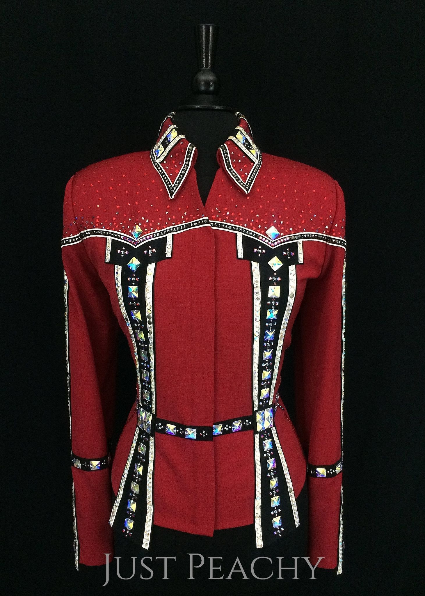 Gently used western showmanship outfit by Berry Fit Approx
