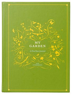 My Garden A Five Year Journal Contemporary Gardening Tools