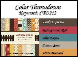 Color Throwdown: Color Throwdown #212