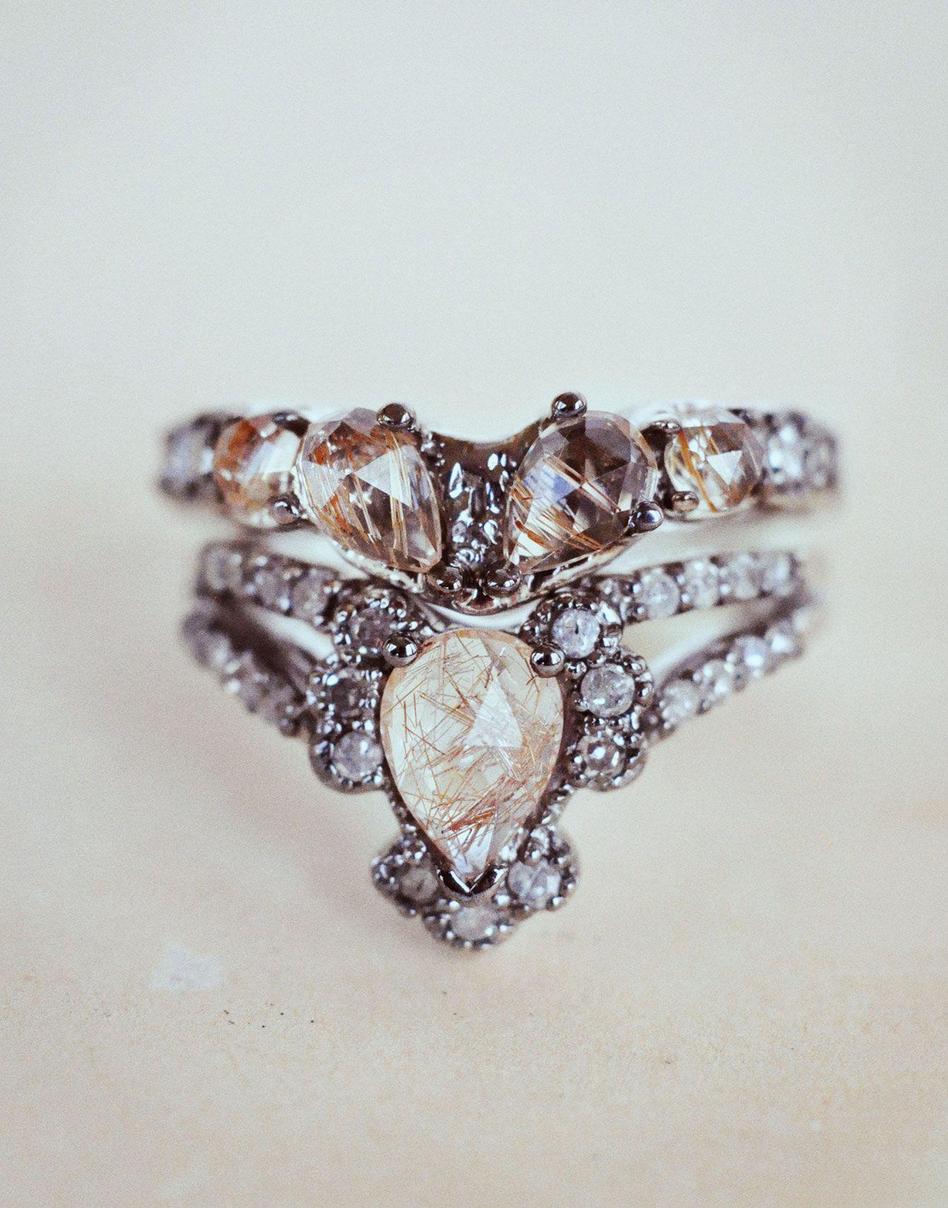 Immortalia by ManiaMania Ritual Solitaire Ring & Sacred Wedding