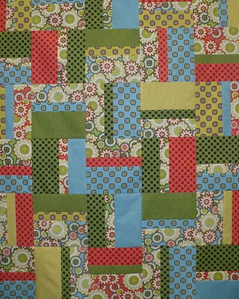 Easy-Peasy Strip and Fat Quarter quilt | Fat quarter quilt, Fat ... : easy fat quarter quilt - Adamdwight.com