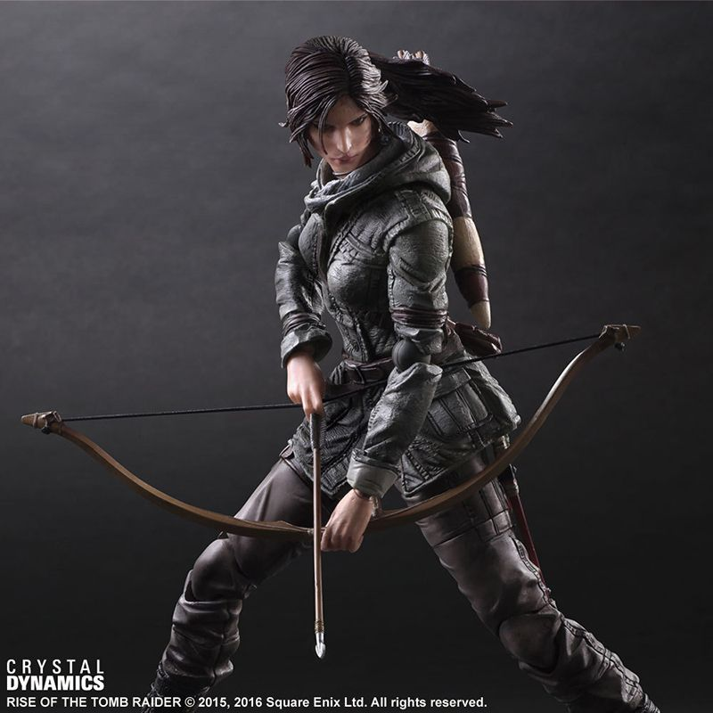 Tomb Raider Action Figure Lara Croft Movie Rise of The Tomb Raider Model PVC Toy