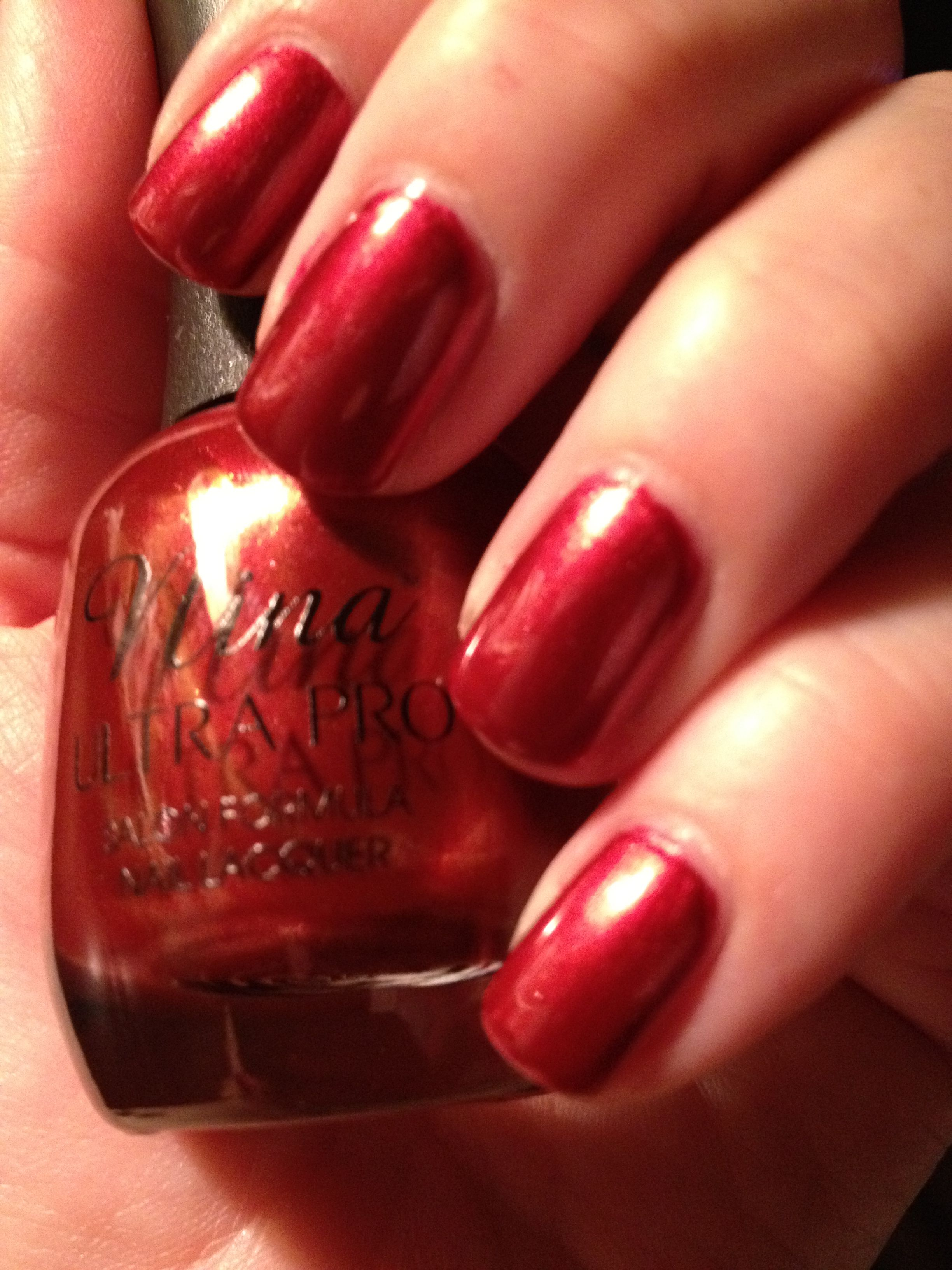 Nina Ultra Pro nail polish - Candi Apple | Nail Swatches | Pinterest ...