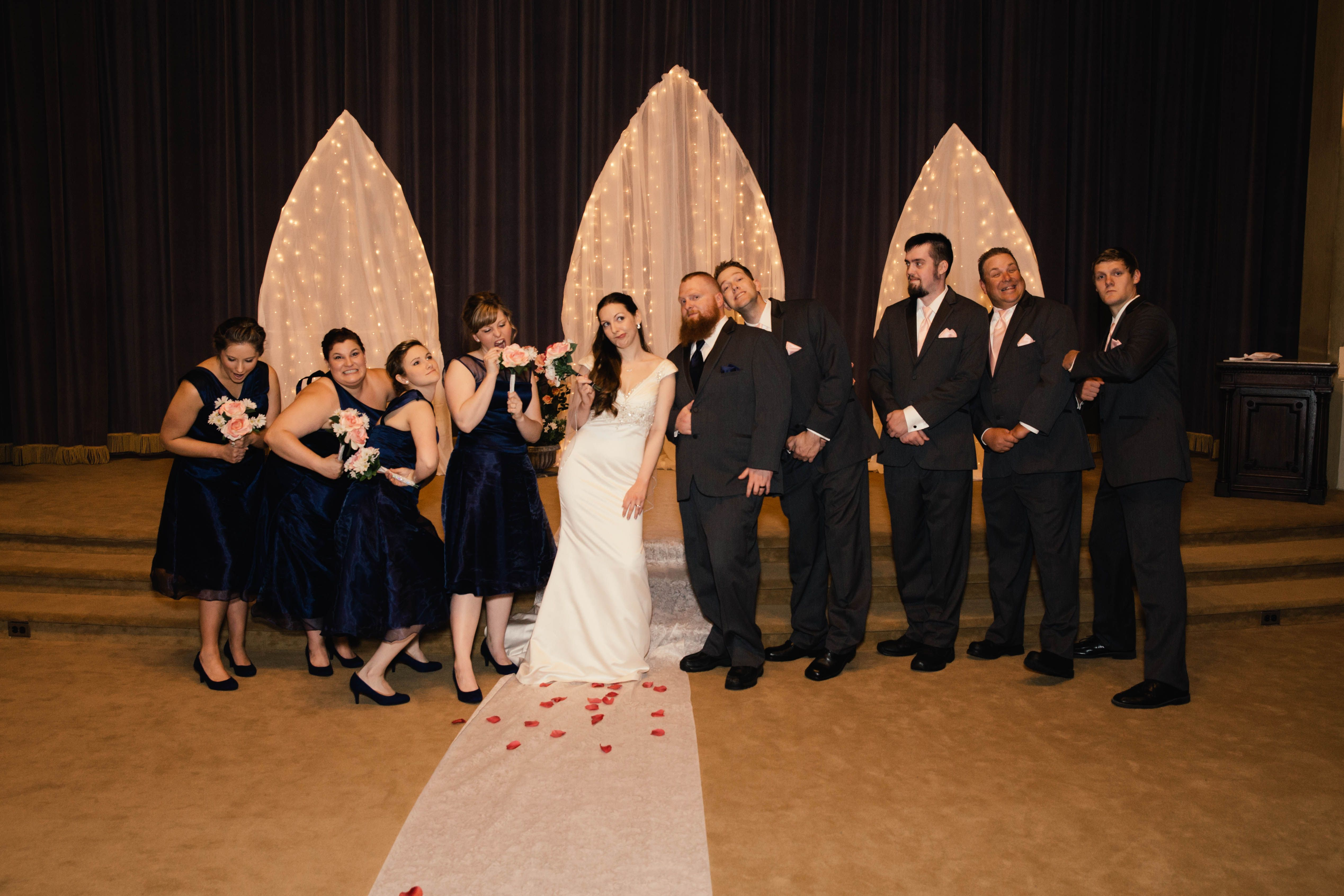 Our Beauty and The Beast isp wedding The Quattlebaums Credit L ...