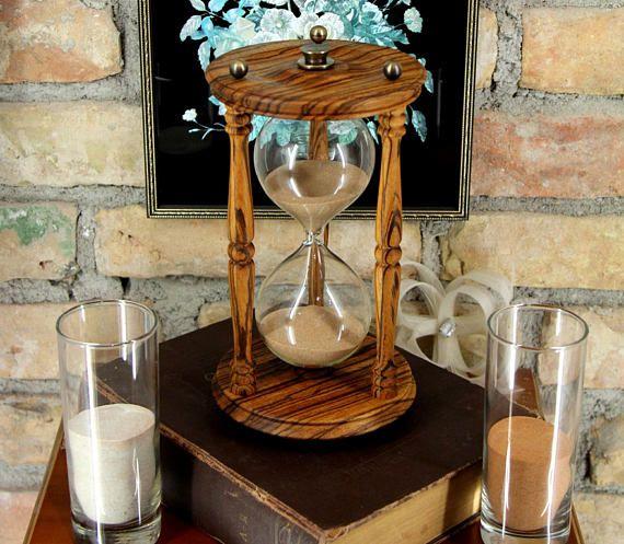 Hochzeit Sand Zeremonie 30 Min Vintage Personalisierte Sanduhr Und