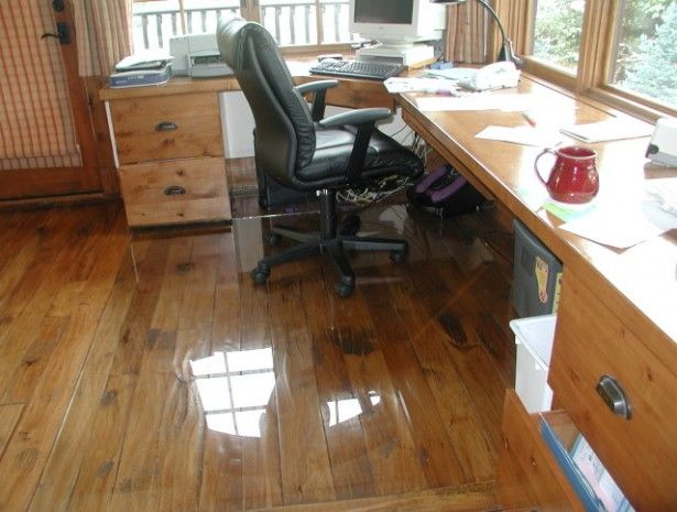 Flooring Ideas Clear Office Floor Mats Over Laminate Wooden And Black Leather Wheeled Chair