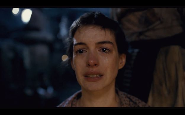 Anne Hathaway Sings I Dreamed A Dream With Images Dance