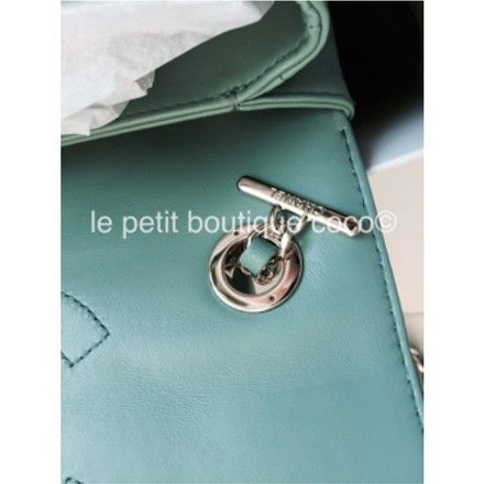 45cc156a2208 Classic Flap Trendy Cc Minty Limited Edition Ghw Rare Green Leather ...