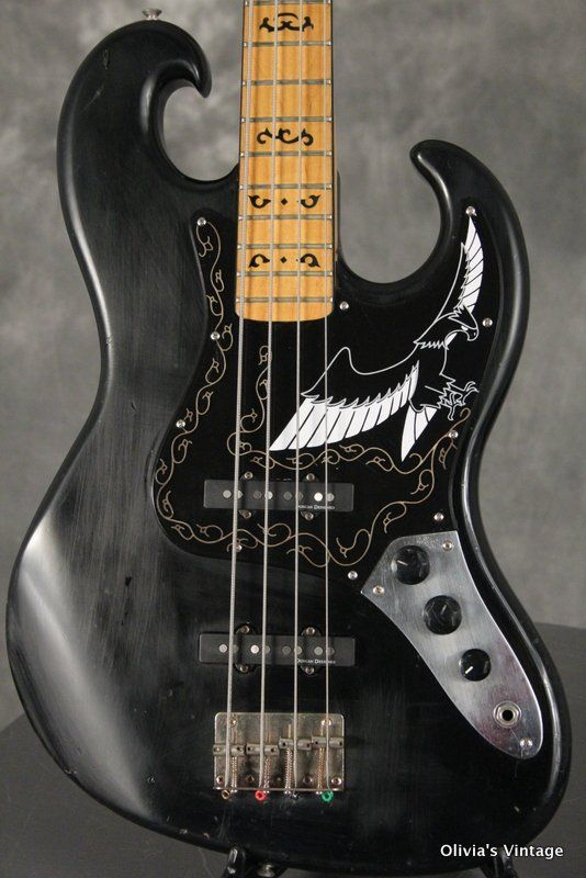 1977 Ibanez Black Eagle Bass Sonic Machines In 2019 Pinterest