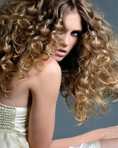 Curly Dirty Blonde Hair 113