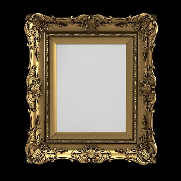 Picture or mirror frame | 3D | Pinterest | D, Old mirrors and Pictures
